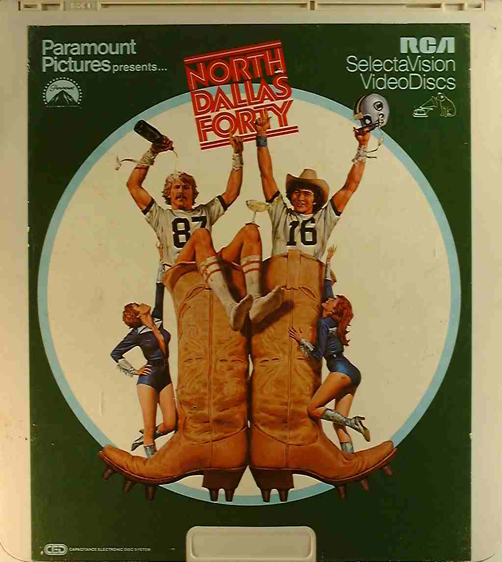 North Dallas Forty {76476006341} C - Side 1 - CED Title ...